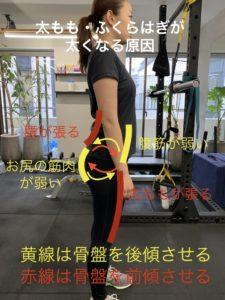 IMG 3072 225x300 - 女子の筋肉バランスが悪いブサイクな体から抜け出す