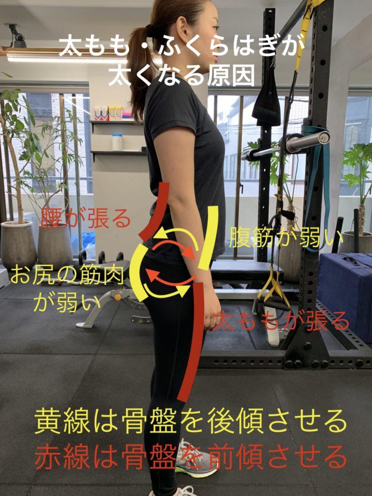 IMG 3072 768x1024 - 女子の筋肉バランスが悪いブサイクな体から抜け出す